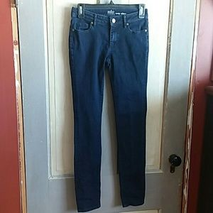 New York and Company Soho curvy skinny dark jeans